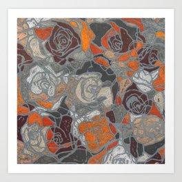 Relief Art Print