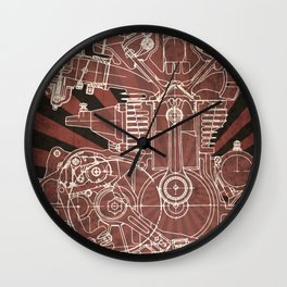 CB450 Japan Wall Clock