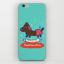 Little baby dog iPhone Skin