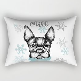 French Chill Rectangular Pillow
