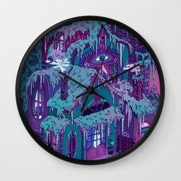 December House Wall Clock