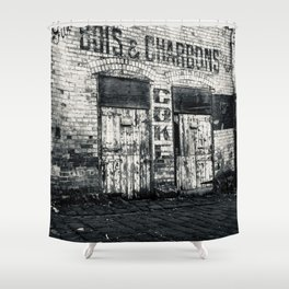 BOIS & CHARBONS Shower Curtain