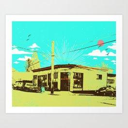45TH AND STARK Art Print