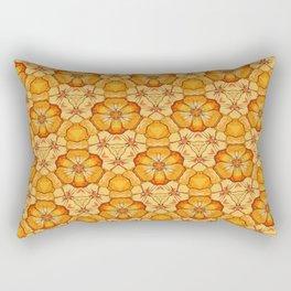Poppy Chain Rectangular Pillow