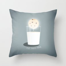 Full cookie rising Throw Pillow