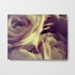 {English Rose} Metal Print