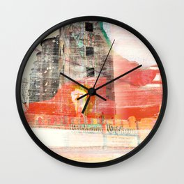 Oh the Remnants Wall Clock