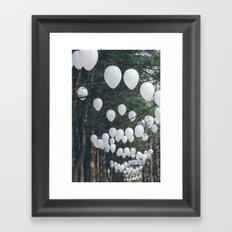 Romantic Forest Framed Art Print