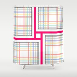 trendy but traditional Shower Curtain