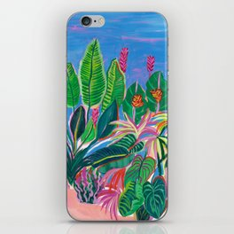 Tropical Patio iPhone Skin