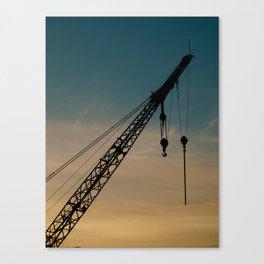 Crane Canvas Print