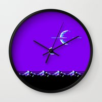saturn Wall Clocks featuring Saturn by noirlac