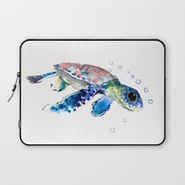 Sea Turtle Illustration Laptop Sleeve
