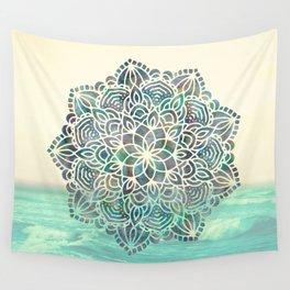 Mandala Mermaid Oceana Wall Tapestry