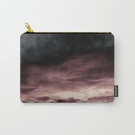 BLACK & PINK & GOLD TOUCHING #1 #abstract #decor #art #society6 Carry-All Pouch