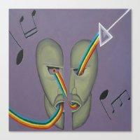 floyd Canvas Prints featuring Pink Floyd by ArtSchool