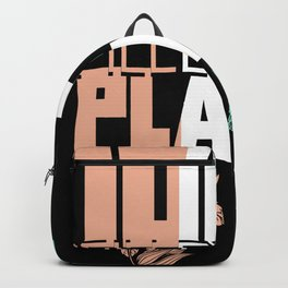 Filled with plants Backpack