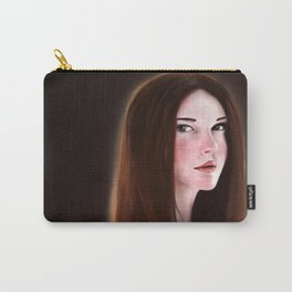 Girl illustration Carry-All Pouch
