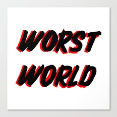 World Issues Canvas Print