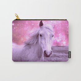 Pink Horse Celestial Dreams Carry-All Pouch