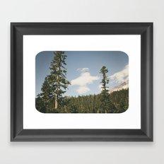 Angel Cloud Framed Art Print