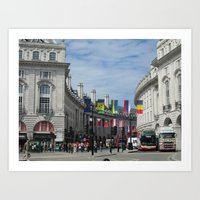 Regent Street, London Art Print