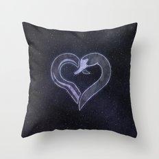 Captain Swan - Hook & Swan Throw Pillow