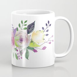 Posy ROSE AND RED Painted - bouquet, nosegay, flower Coffee Mug