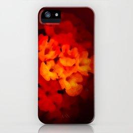 Warm Lantana iPhone Case