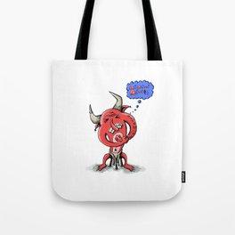 Kozie the Devil Tote Bag