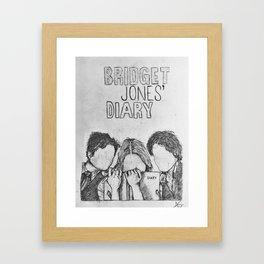 Bridget Jones' Diary Framed Art Print