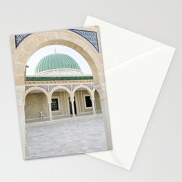 Mausoleum of Habib Bourguiba in Monastir, Tunisia Stationery Cards