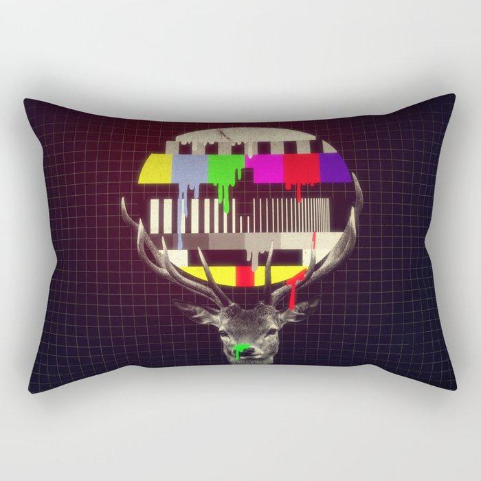 No signal Rectangular Pillow