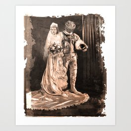 Gordon's Wedding Art Print