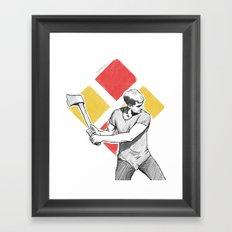 Resistance Framed Art Print