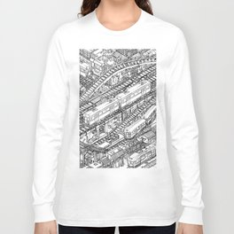 The Town of Train 3 Long Sleeve T-shirt