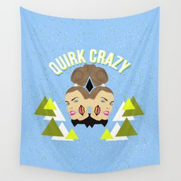 Quirk Crazy Wall Tapestry