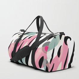 Splatter Burn Duffle Bag