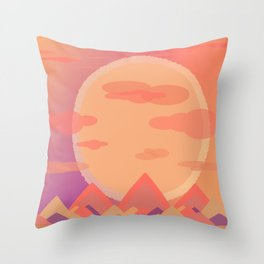 In Another Land Throw Pillow