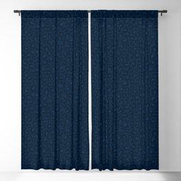 Leopard Print 2.0 - Navy Blue Blackout Curtain