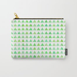 evergreen geometric pattern Carry-All Pouch