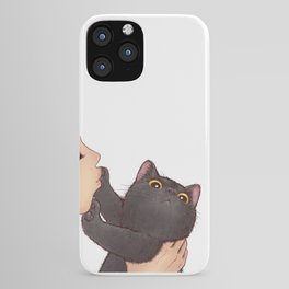 cat : huuh iPhone Case