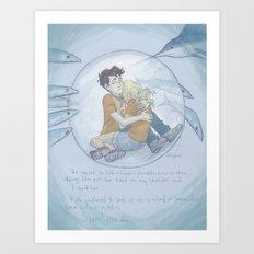 Siren Bay Art Print