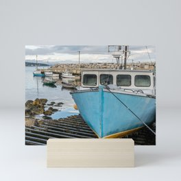 Safe in the Harbour Mini Art Print
