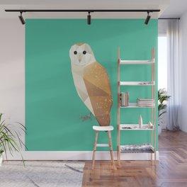 Barn Owl Wall Mural