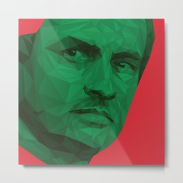 Jose Mourinho / Portugal – Poly Metal Print