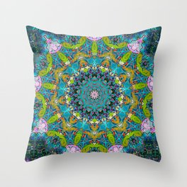 Twisted Carnival 14 (2016) Throw Pillow