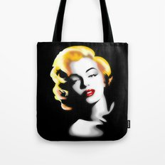 Marilyn Monroe Golden Hair Tote Bag