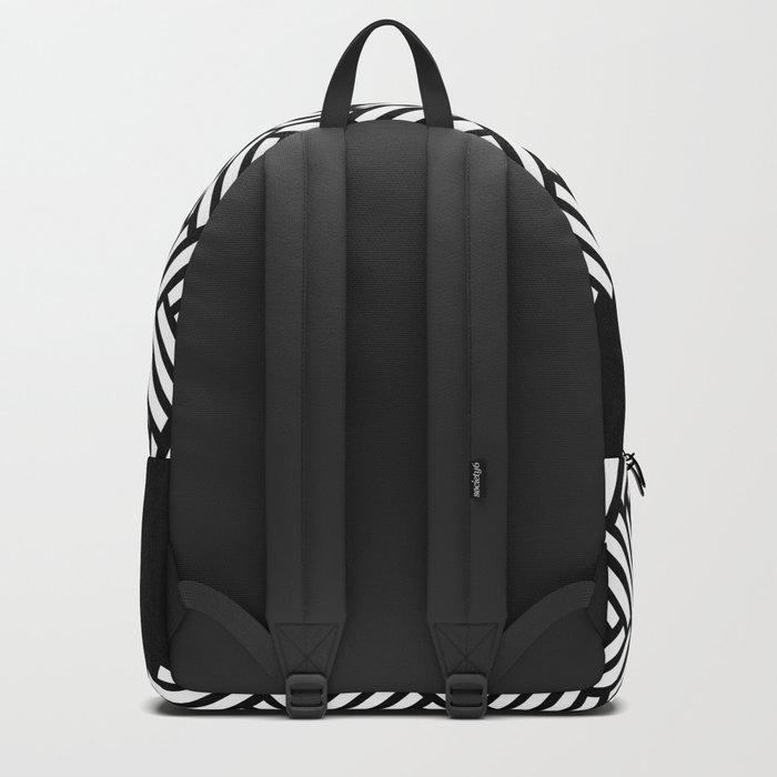 Herringbone Boarder Backpack