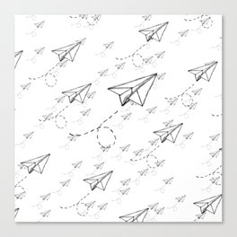 Paper Airplane 9 Canvas Print